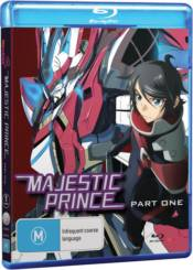 MAJESTIC PRINCE: PART 1 (BLU-RAY) | Minotaur Entertainment Online